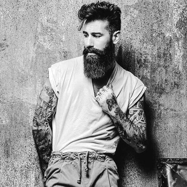 Masculine Rugged Male Awesome Beard Style Ideas