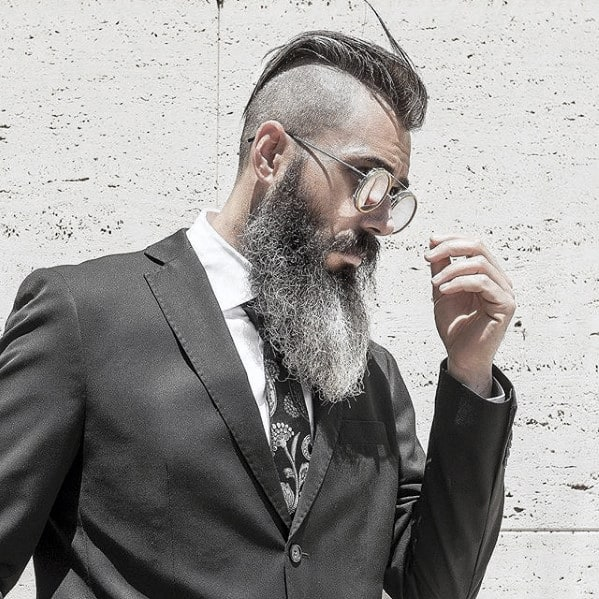Masculine Rugged Male Big Beard Style Ideas