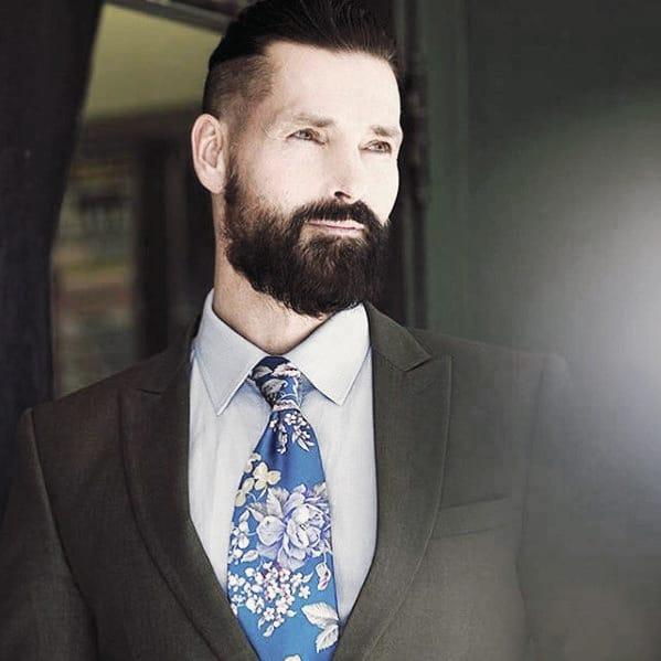 Masculine Rugged Male Classy Beard Style Ideas