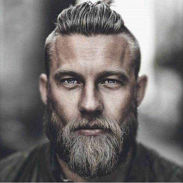 Masculine Rugged Male Cool Beard Style Ideas