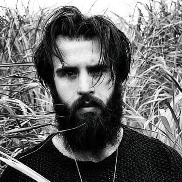 Masculine Rugged Male Great Beard Style Ideas