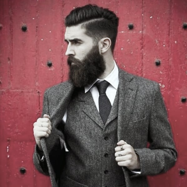 Masculine Rugged Male Professional Beard Style Ideas