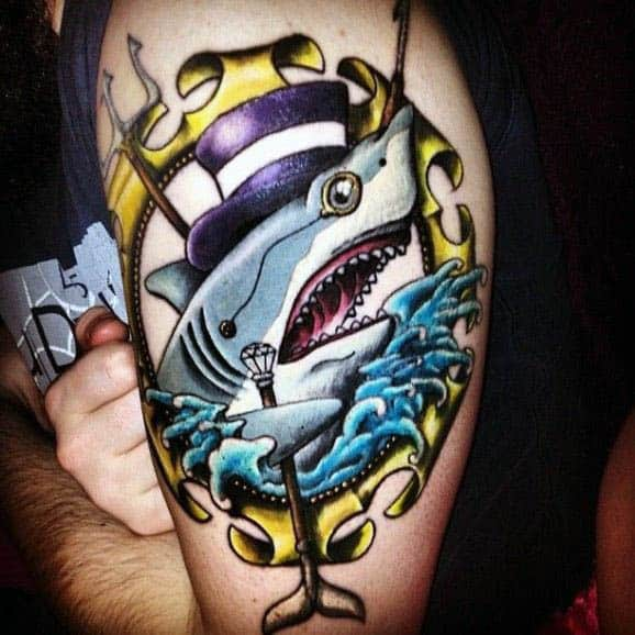 Masculine Shark Tattoo Inspiration For Men