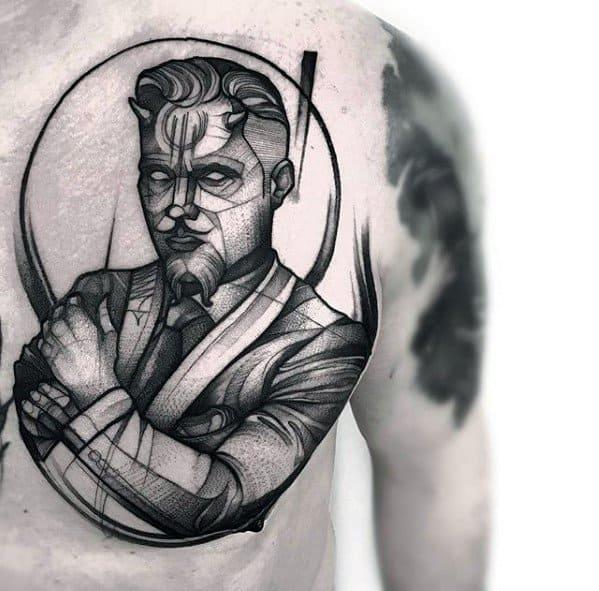 60 Sketch Tattoos For Men
