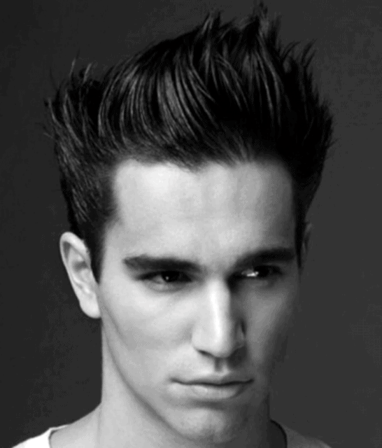 Masculine Spiky Hair For Men