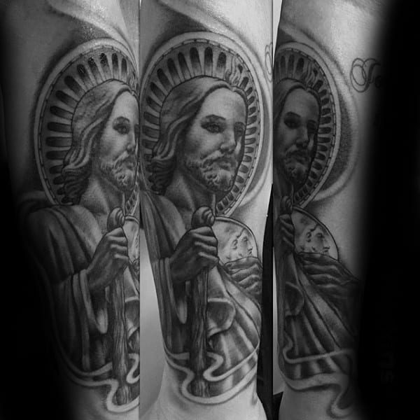 Masculine St Jude Guys Tattoo Inspiration