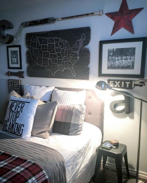 Masculine Teen Boy Bedroom Ideas