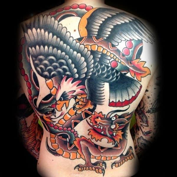 Masculine Traditional Tattoo Ideas For Gentlemen
