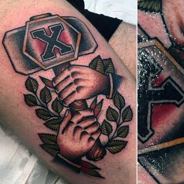 Masculine Vintage Tattoos For Men