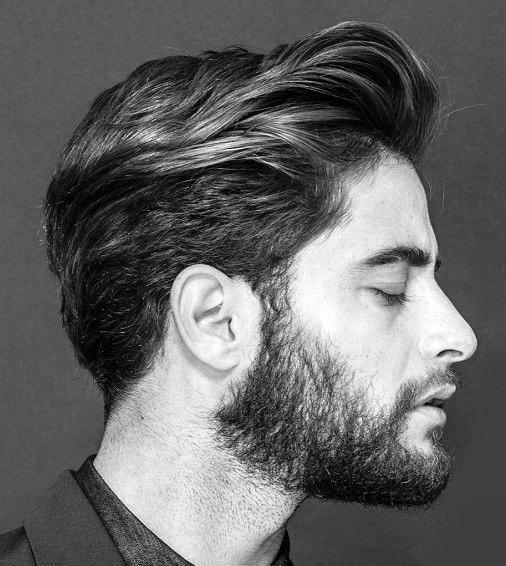 Masculine Wavy Hair Men