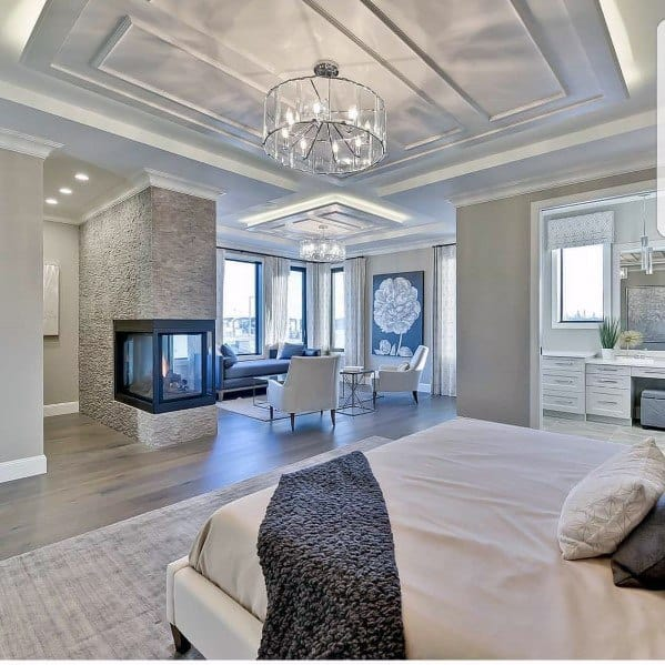 Top 60 Best Master Bedroom Ideas - Luxury Home Interior ... on Luxury Master Bedroom  id=70995