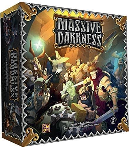 cmon massive darkness solo board game