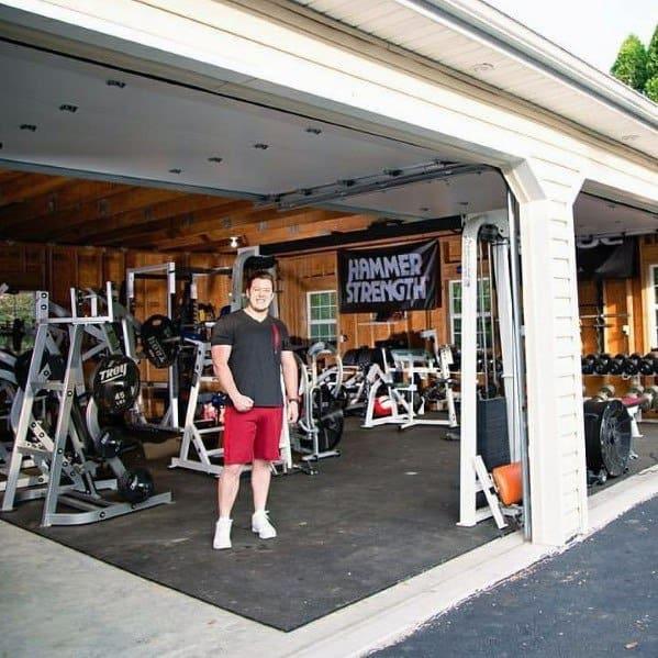 Massive Garage Gym Ideas