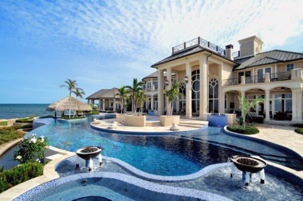 Massive Real Estate Home Swimming Pool Design Inspiration