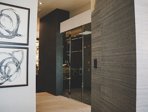 Master Bathroom Hallway Las Vegas Nevada 2019 New American Home