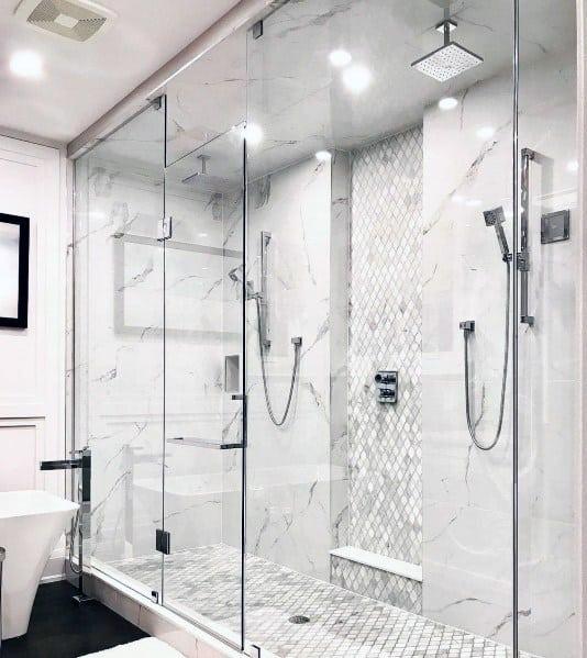 Master Bathroom Shower Lighting Design Ideas