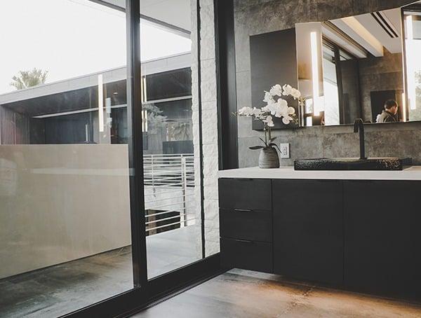 Master Bathroom Vanity Las Vegas Nevada 2019 New American Remodel Modern Interiors