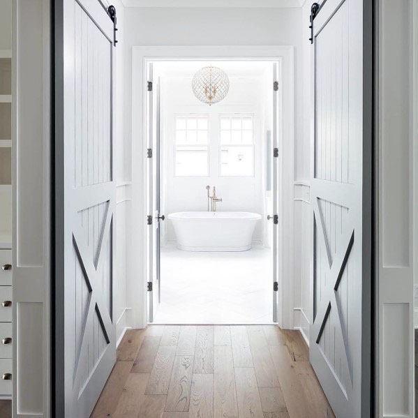Master Bedroom Closets Design Ideas Barn Door