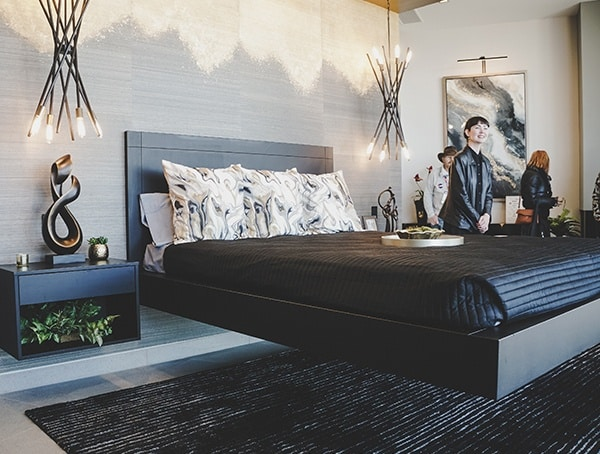 Master Bedroom Floating Bed 2019 New American Home
