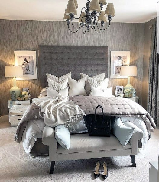 cozy beddiings and pillows bedroom ideas