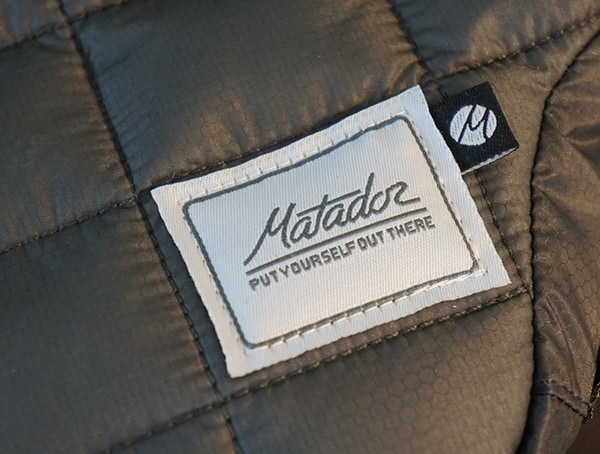 Matador Camera Base Layer Padded Performance Synethic Down Filling Sorona