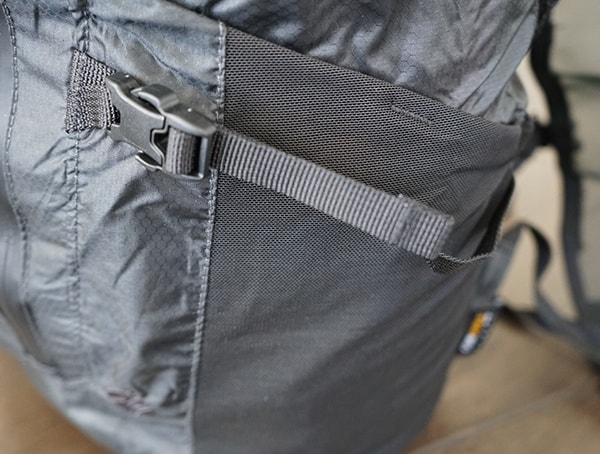 Matador Freerain24 Backpack Compression Straps On Side Of Pack