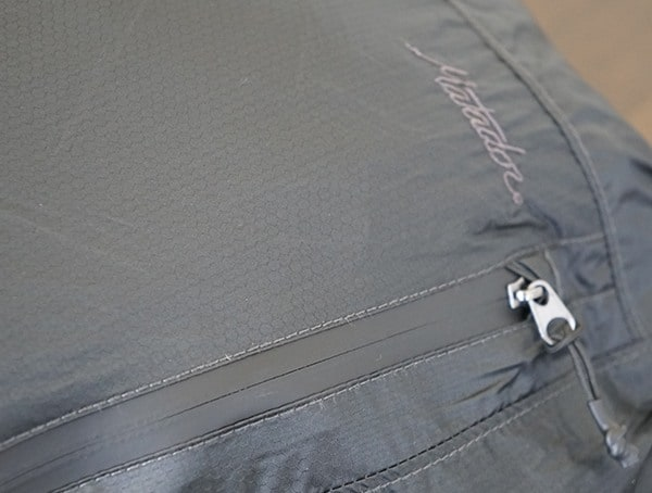Matador Freerain24 Backpack Sealed Waterproof Zipper Side Compartment