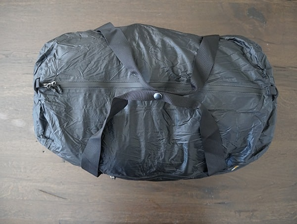 Matador Transit 30 Ultralight Duffle Bag Top View With Handle