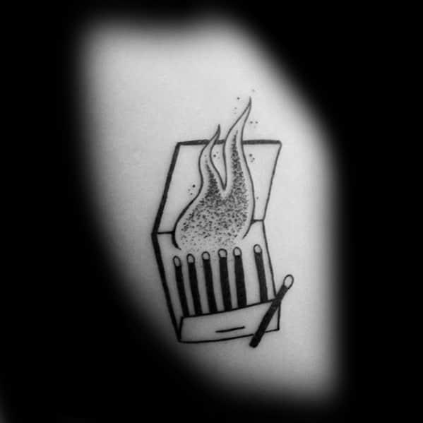 Matches Male Tattoo
