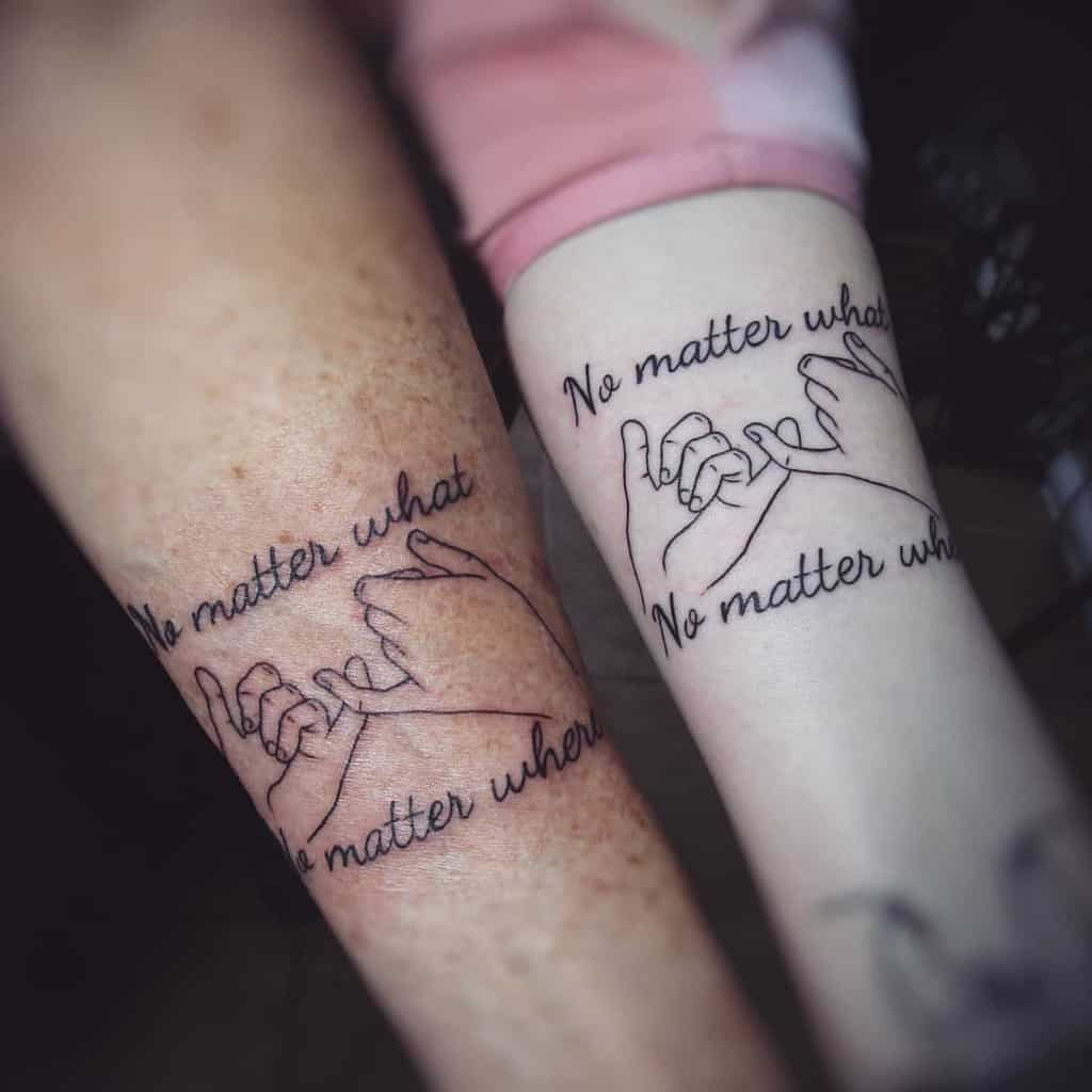 Matching Pinky Promise Tattoos Nuclearbettys