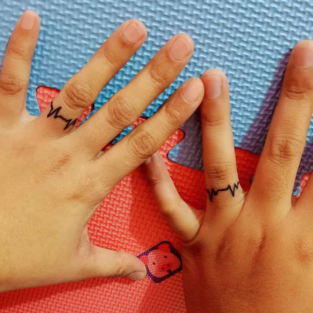 Matching Theme Wedding Ring Rosechii03