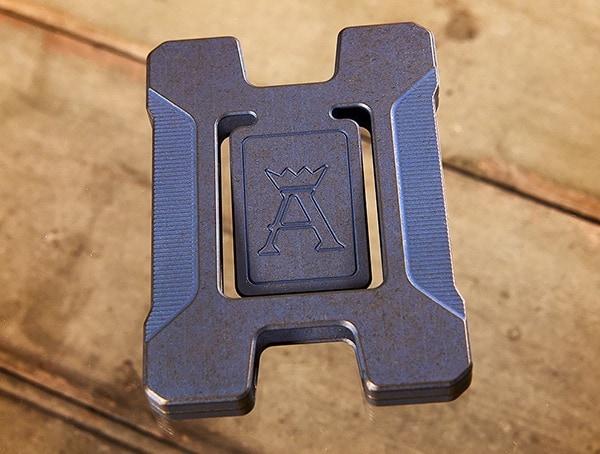Matrix Credit Card Titanium Wallet For Men