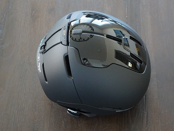 Matte And Gloss Black Poc Obex Spin Ski Helmet