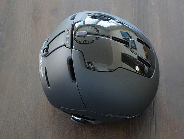 Matte And Gloss Black Poc Obex Spin Ski Helmet