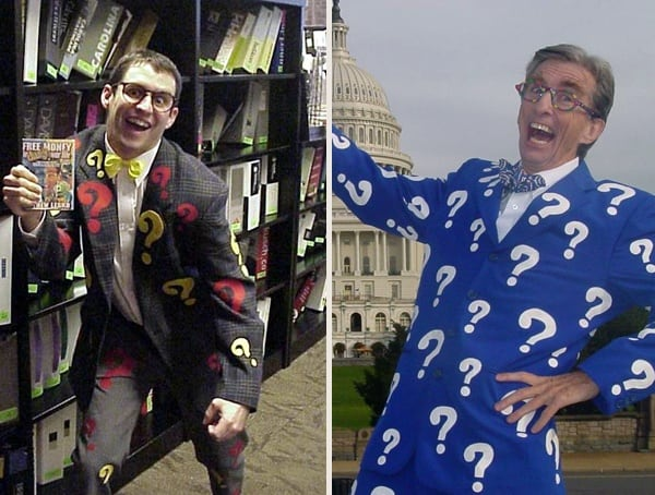 Matthew Lesko Best Mens Halloween Costume Ideas