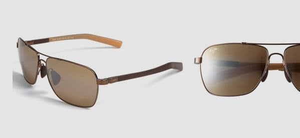 Maui Jim MauiFlex Freight Trains Polarized Plus Sunglasses For Men