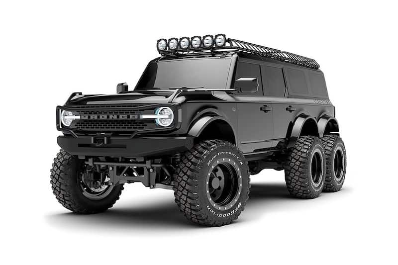 Maxlider Brothers Customs Transform the New Ford Bronco Into a 6×6 Behemoth