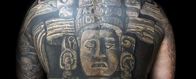 Mayan Tattoos For Men