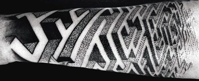Maze Tattoo Designs For Men