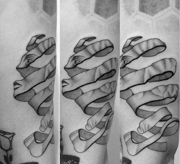 Mc Escher Guys Tattoo Designs