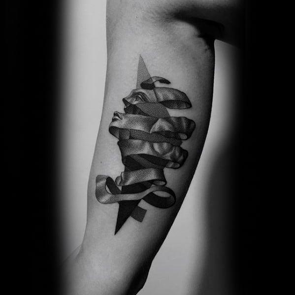 Mc Escher Tattoo Designs For Guys