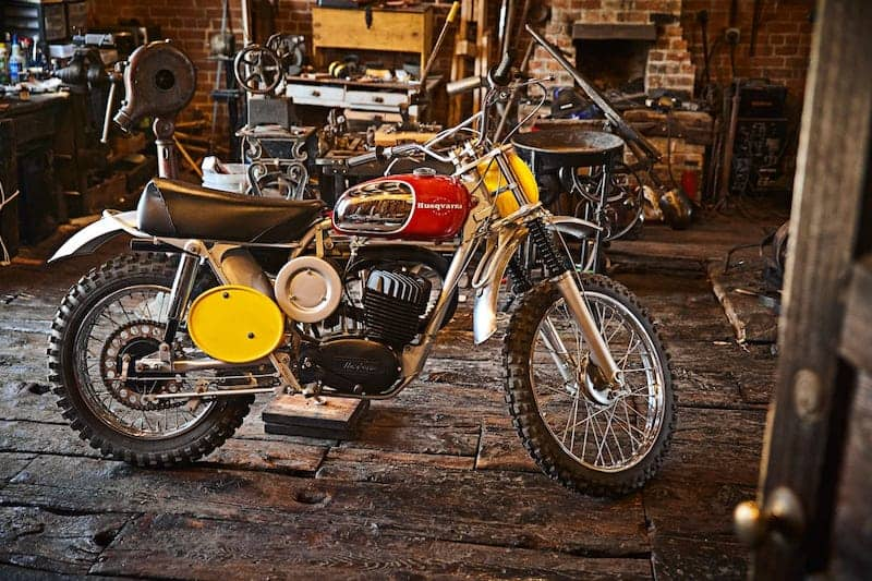 Steve McQueen's Husqvarna Viking 360 Motorcycle Ready To Ride To Auction
