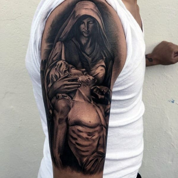 Meaningful Christian Tattoos On Gentleman