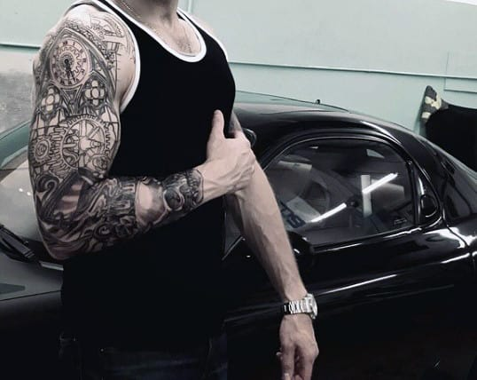Mechanic Tattoos For Men