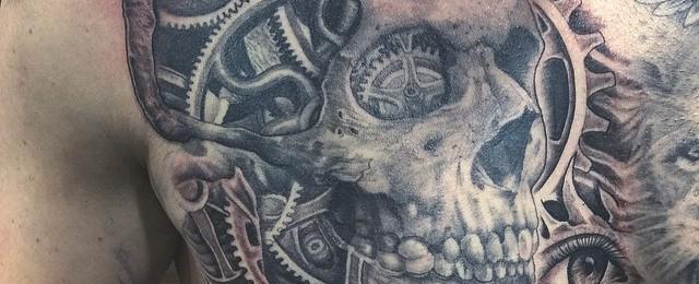 Top 47 Mechanical Tattoo Ideas [2020 Inspiration Guide]