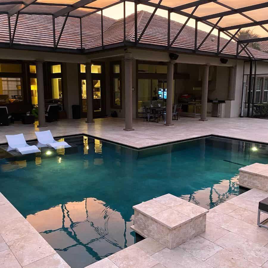 Mediterranean Lanai Room Ideas Orlando Sold Right