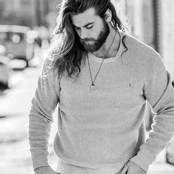 Medium Beard Styles Male