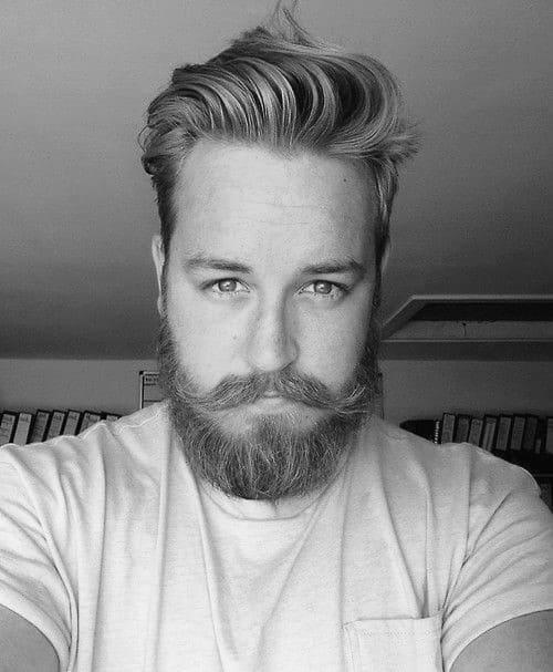 Medium Hair Men With Beard