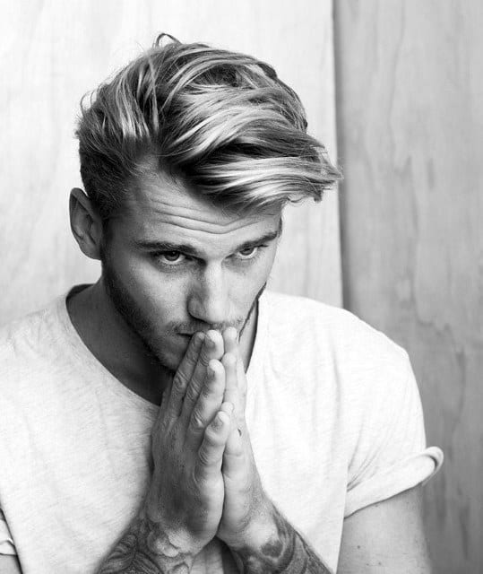 Medium Hair Styles For Men Thick And Wavy