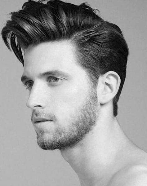 Medium Hairstyle For Guys Thick Hair